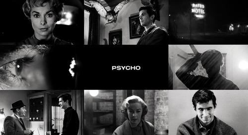 ملك افلام الرعب النفسية Psycho عدسة الفن